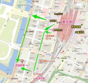 King&Prince(キンプリ)帝国劇場舞台 地図