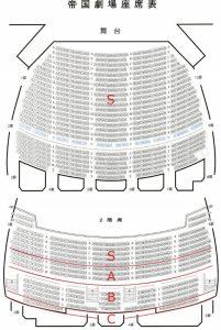 King&Prince(キンプリ)帝国劇場座席表 キンプリアイランド